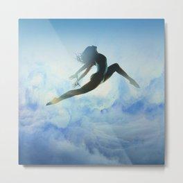 Dancer's Leap Metal Print