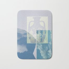 Portland Vase in Blue Bath Mat