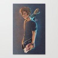 artsy Canvas Prints featuring Artsy Harry by Laia™