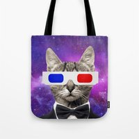 neil gaiman Tote Bags featuring neil catrick harris by tbdaniel15