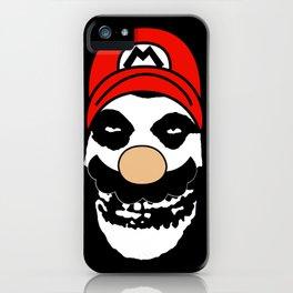 Misfit Mario iPhone Case