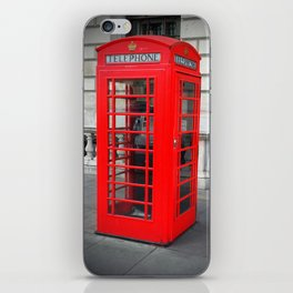 London Phone Booth iPhone Skin