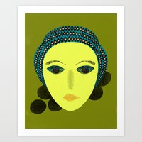 nausicaa Art Prints featuring nausicaa by juni