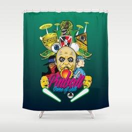 Pinball, Game of skill Shower Curtain