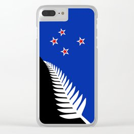 NZ flag (that nearly made it) 2016 Clear iPhone Case