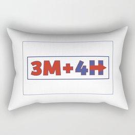 3M+4H Rectangular Pillow