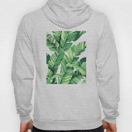 Tropical banana leaves V Hoody