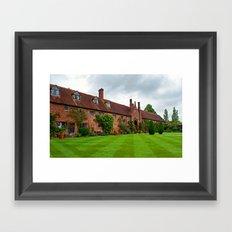 Sissinghurst The Invisible Castle Framed Art Print