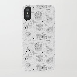New Orleans Toile iPhone Case