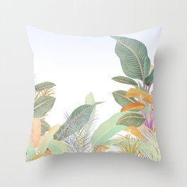 Native Jungle Throw Pillow