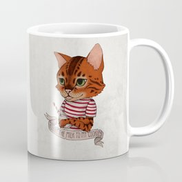 FRANKIE THE CAT Coffee Mug