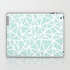 Ab Outline Thick Mint Laptop & iPad Skin