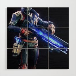 Soldier 76 v1 Wood Wall Art