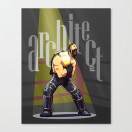 Seth Rollins - Architect Canvas Print