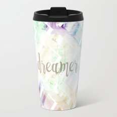 Woven Splatter of Dreams (Light) Travel Mug