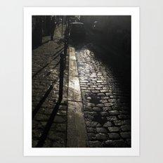 Street In Paris Art Print
