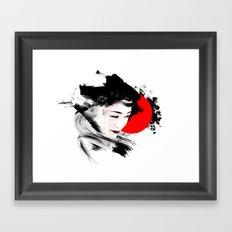 Japan - Kyoto - Geisha Framed Art Print