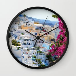 Italian vacation Wall Clock