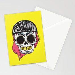 Derby De Muerto Stationery Cards