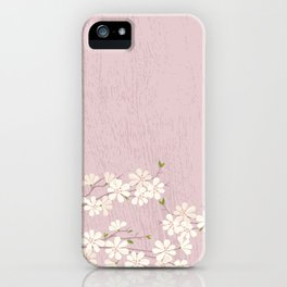 Pink Blossom iPhone Case