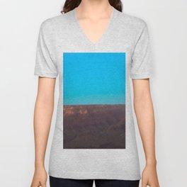 Blue Sky Canyon Unisex V-Neck