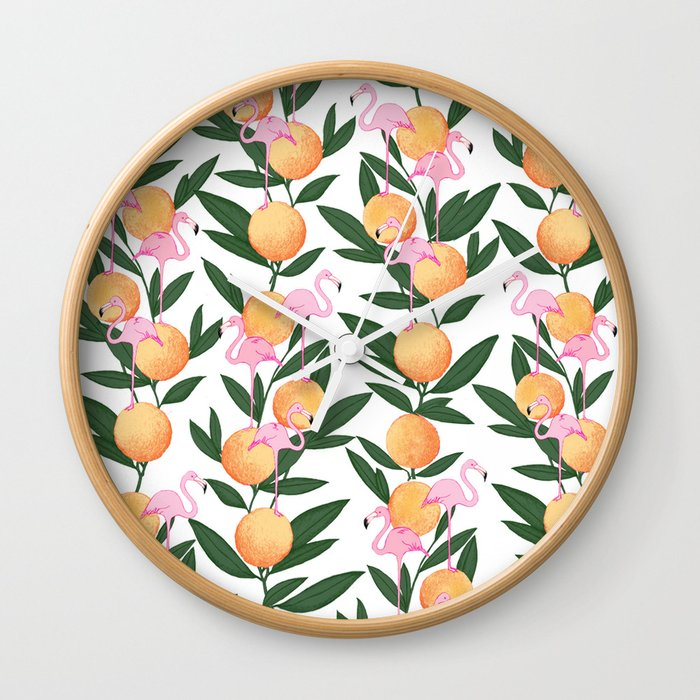 Welcome to the Tropics, No.1 Wall Clock