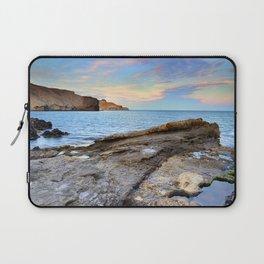 """Volcanic sea"". Cabo de Gata. Laptop Sleeve"