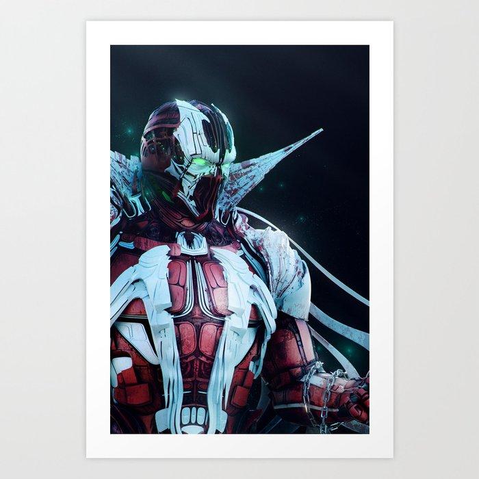 Spawn Vertical2 Art Print