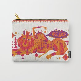 I Wish You Peace Carry-All Pouch