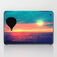 baloon iPad Cases featuring BRIGHTEN by Laura Santeler