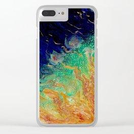 Eruption - Vulpecula Clear iPhone Case