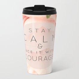 Stay Calm Metal Travel Mug