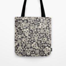 Sugar Skulls - Black & White Tote Bag