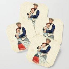 The Quiet Man - Watercolor Coaster