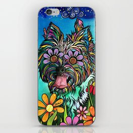 Chorkie iPhone Skin