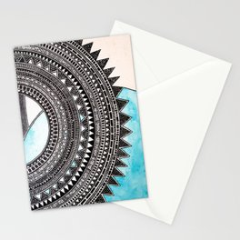 Silver Lines Stationery Cards