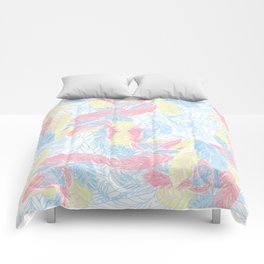 Light feathers Comforters