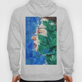 Leaves and face Hoody