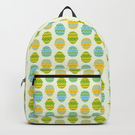 Kawaii Easter Eggs Backpack