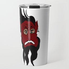 Hide Behind The Mask Travel Mug