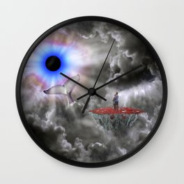 Moments In Love Wall Clock