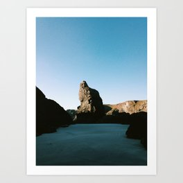 Kynance Cove Art Print