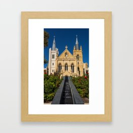 St. Mary's Cathedral Framed Art Print