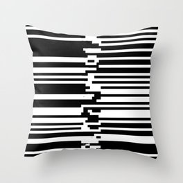 All Chat Scat Throw Pillow