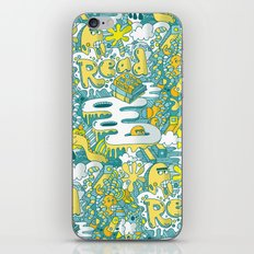 READ BOOKS LITTLE MONSTERS iPhone & iPod Skin