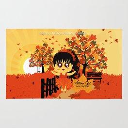 Autumn Girl Rug