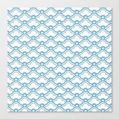 matsukata in dusk blue Canvas Print