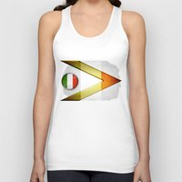 italy Tank Tops featuring Italy by ilustrarte
