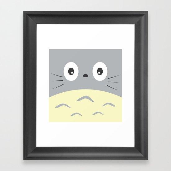 Chubby Framed Art Print