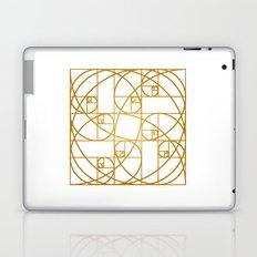 Golden Ropes Laptop & iPad Skin
